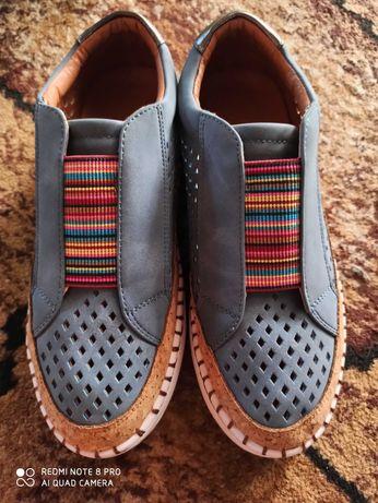 Туфли мокасины кеды