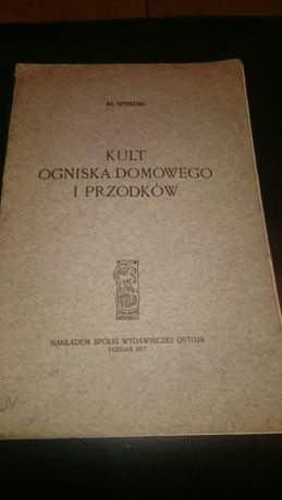 Książka Kult Ogniska Domowego I Przodków 1917r