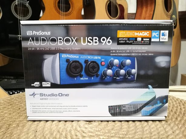 PreSonus AudioBox USB 96 – Interfejs Audio USB