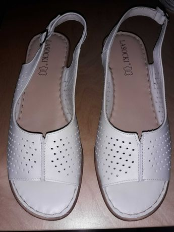 Sandały lasocki 41 nowe