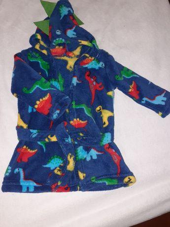 Халат динозаврик для хлопчика халатик для мальчика