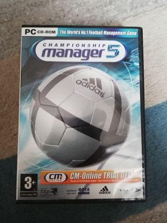 Championship Manager 5 po angielsku