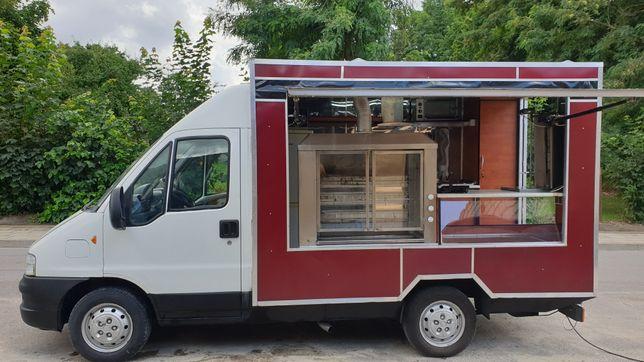 Food truck Gotowy do pracy SKLEP BAR Kebab PEUGEOT BOXER foodtruck