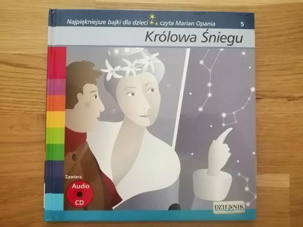 Książeczka Królowa Śniegu Plus CD czyta Marian Opania