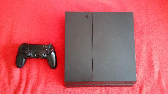Playstation 4 + pad + oryginalne pudełko
