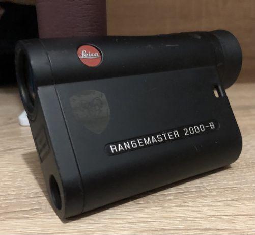 Лазерный дальномер Leica Rangemaster CRF 2000-B + чехол