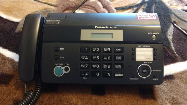 Телефон-факс Panasonic KX-FT982UA