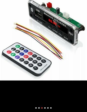 Bluetooth DC5 -12 В MP3 WMA декодер плата аудио модуль. USB SD AUX FM
