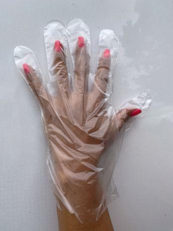 Rękawiczki jednorazowe- zrywki 100 sztuk XL PROMOCJA