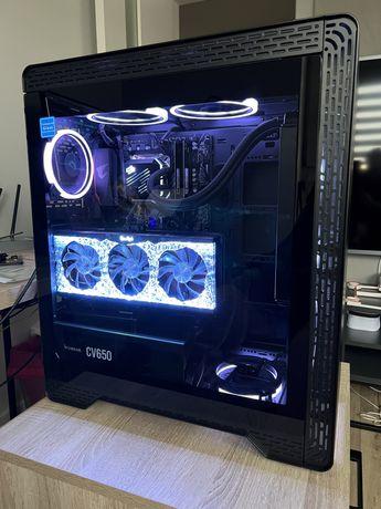 PC RTX 3070 Ti Ryzen 5600X 16GB 1TB SSD B550 Aorus Elite AiO RGB Riser
