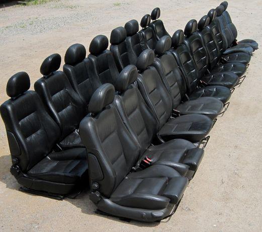 Подам сидения с электрорегулировками в коже на авто Опель, Рено, Фиат