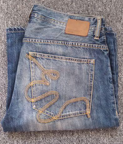 Spodenki szorty jeansowe ECKO UNLTD. Loose Fit rozm. 36 baggy luźne