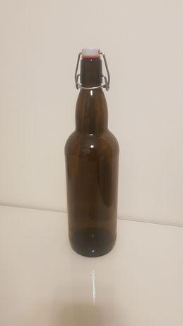 Butelka 1 L korek nalewka cydr podpiwek kwas piwo