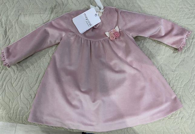 Плаття на маленьку принцессу фірми mayoral розмір 18 m