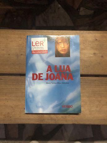 Livro A lua de Joana