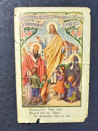 Obrazek kolekcjonerski. Niemcy niemiecki antykwariat