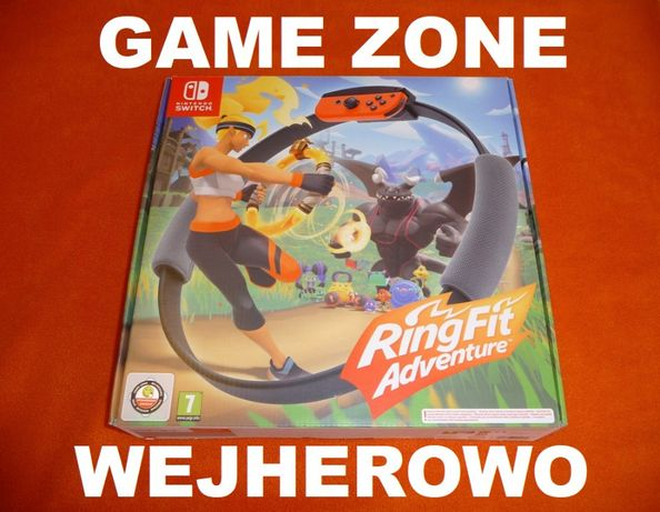 Ring Fit Adventure Nintendo SWITCH = gra ruchowa jak Kinect / Move