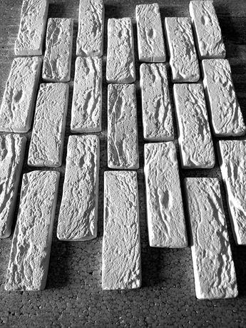 Гипсовый камень Венецианский кирпич
