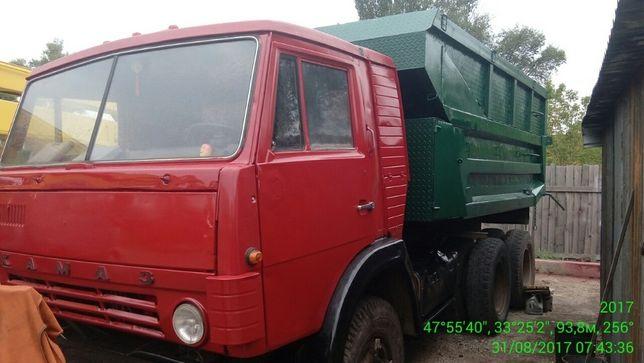 КАМАЗ 5511-самосвал 14 т в хорошем состоянии