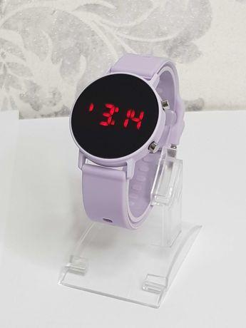 Zegarek LED na silikonowym pasku