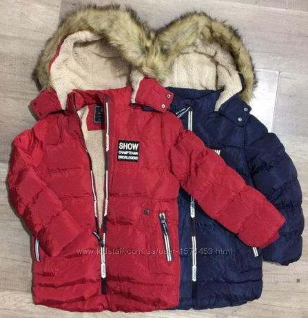 Куртка на мальчика рост 140-164 см (8 - 16 лет)