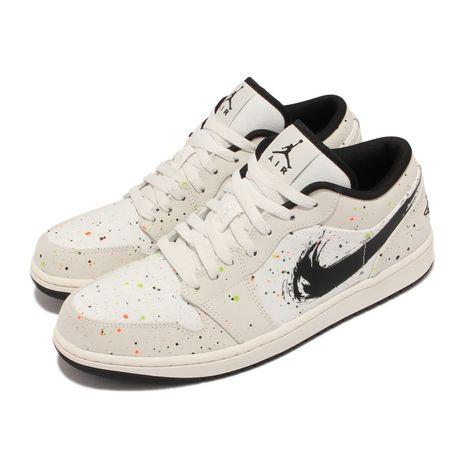 Nike Air Jordan 1 Low brushstroke NUNCA USADO ( loja PT)