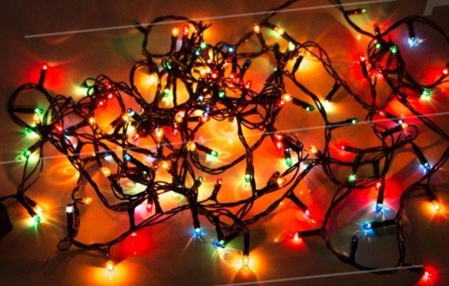 Новогодняя Гирлянда 140 лампочек