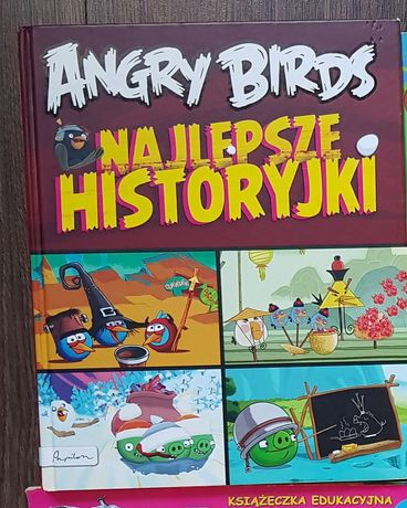 Książka angry birds