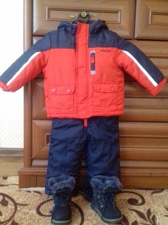 Зимний комплект для мальчика 1- 1.5 года