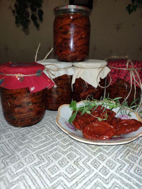 Томаты вяленые, помидоры