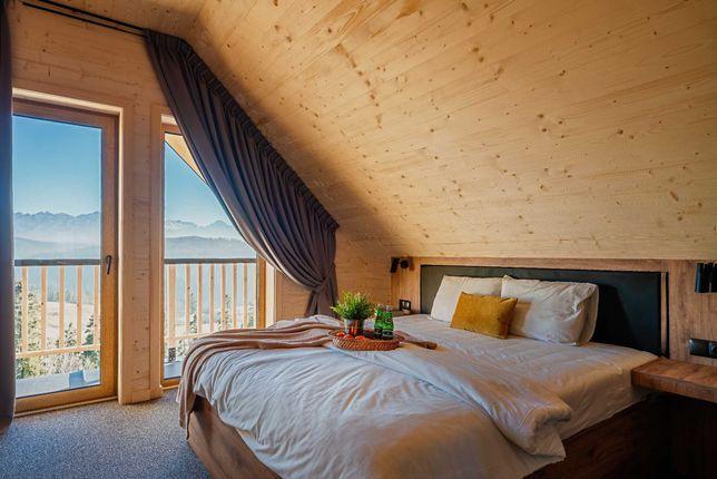 Domek w górach z widokiem na góry Majerczyk House