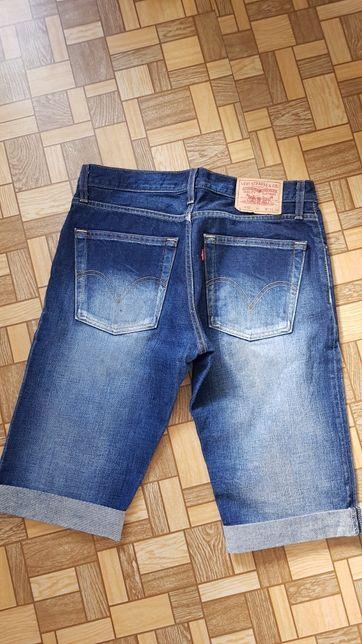 Jeansy Levis krótkie spodnie W33 stan bdb