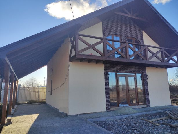 Каркасний будинок біля Львова(Сокільники)
