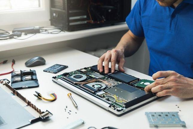 Naprawa, ulepszanie, czyszczenie laptopów oraz komputerów