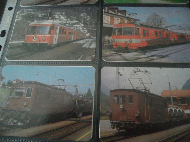 16 Calendarios de Bolso Comboios e Locomotivas 1987