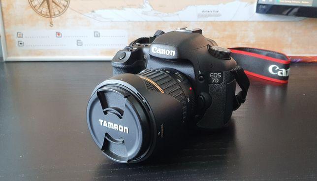 Canon 7D + 2x Tamron + dodatki, przebieg 5800