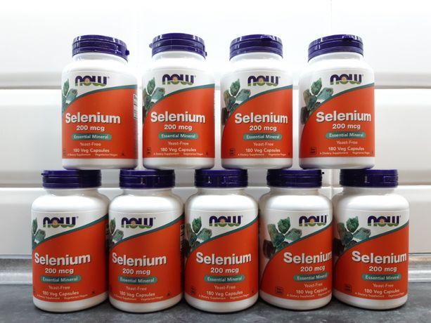 Now foods, селен (180 капс. по 200 мкг), selenium