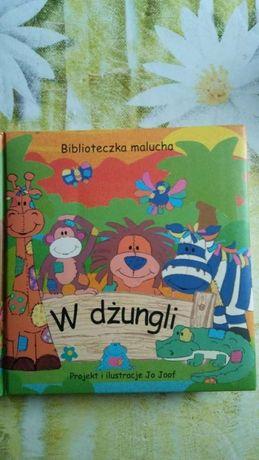 Biblioteka Malucha W Dżungli Jo Joof GRATIS kolorowanka