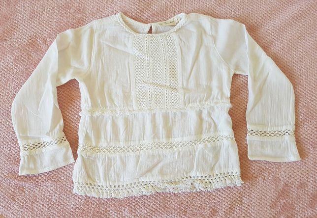 Biała bluzka Zara r. 116