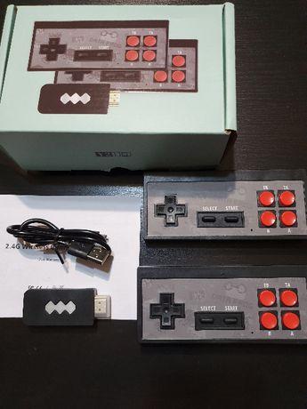 Bezprzewodowa retro konsola HD 568 gier Pegazus