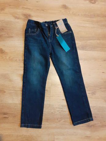 Spodnie jeansy f&f rozmiar 7-8 lat