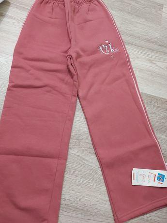 Spodnie dresowe 128 nowe dziewczęce