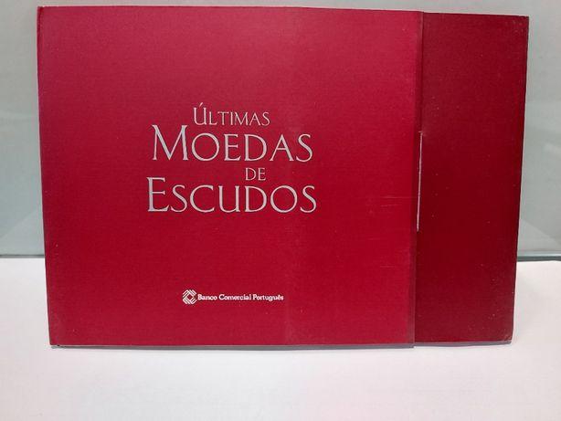 Coleção ultimas moedas escudos Edição Banco Comercial Portugues