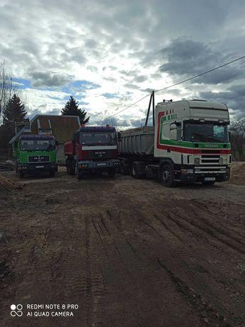 Transport wywrotkami, Węgla, Piasku, Kruszyw, Sprzedaż