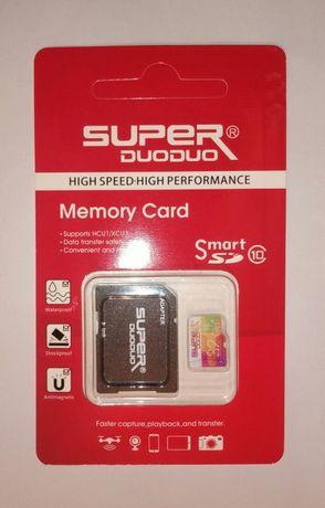 Карта памяти 32 Гб флешка память Micro SD kard 10 клас