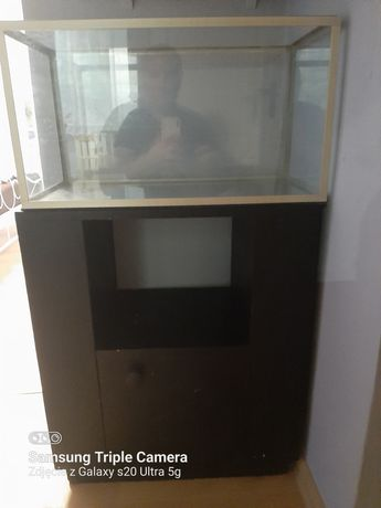 Akwarium 60x30 z szafką