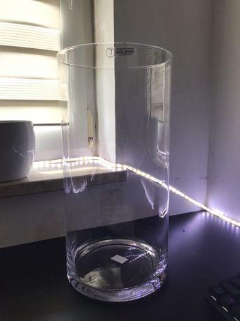 Wazon Duży cylinder Szklany