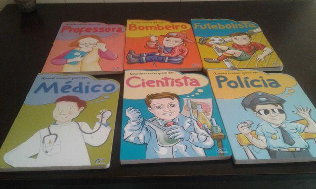 6 livros para criança