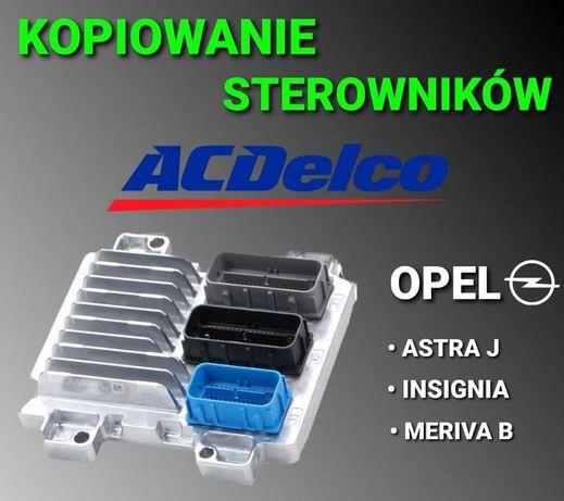 Kopiowanie sterowników AC Delco Delphi Opel Astra J Insignia Meriva B