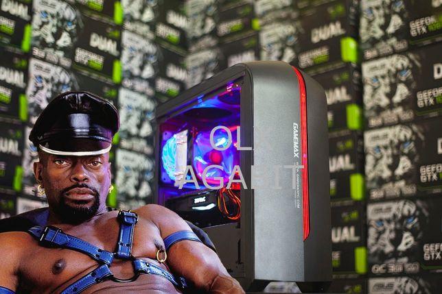 Черный Властелин! i5-9400+GTX1070+16GB+SSD игровой компьютер пк